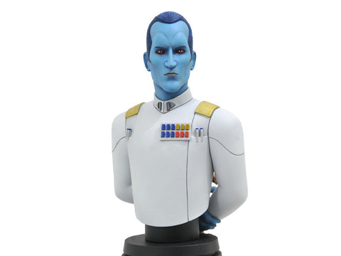 PRE-ORDER: Diamond Select Star Wars Rebels Thrawn 1:7 Scale Bust