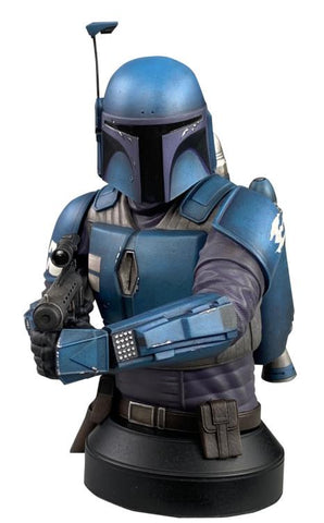 PRE-ORDER: Diamond Select The Mandalorian Death Watch Mandalorian 1/6 Scale PX Previews Exclusive Limited Edition Bust