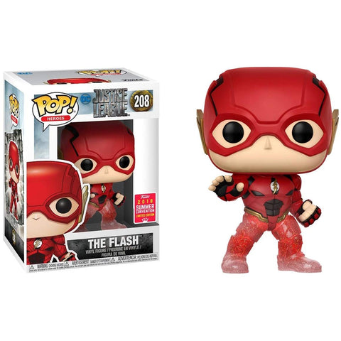 Funko Pop! Movies: Justice League The Flash #208 2018 Summer Convention Exclusive