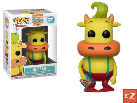Funko Pop! Television: Rocko's Modern Life Heffer *New In Box* - CollectorZown
