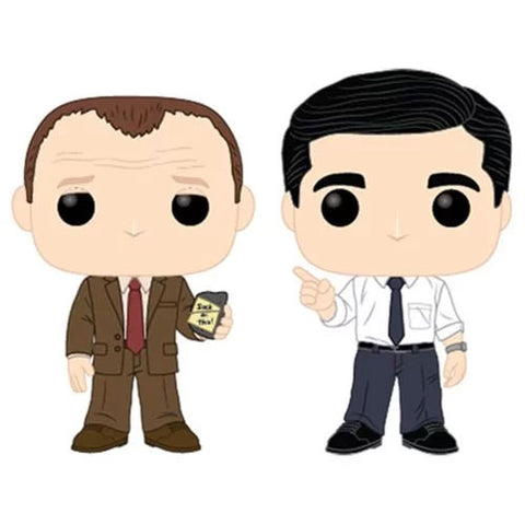 PRE-ORDER: Funko Pop! TV: The Office Toby vs Michael 2 pack