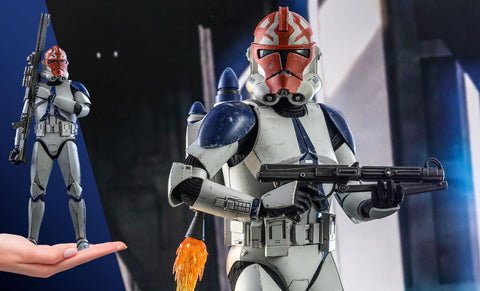PRE-ORDER: Hot Toys 501st Battalion Clone Trooper (Deluxe) Sixth Scale Figure