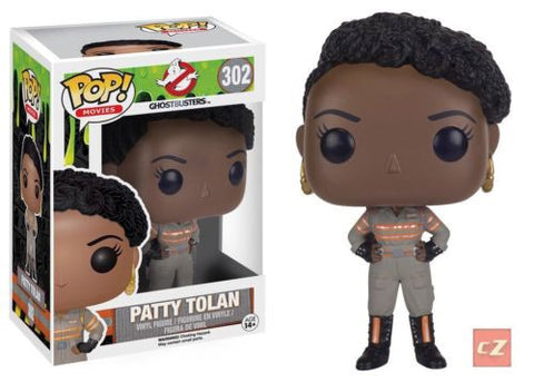 Funko Pop! Movies: Ghostbusters Patty Tolan #302 - Vaulted *New In Box* - collectorzown