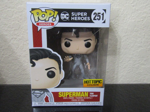Funko Pop! Heroes: DC Heroes Superman From Flashpoint #251 Hot Topic Exclusive