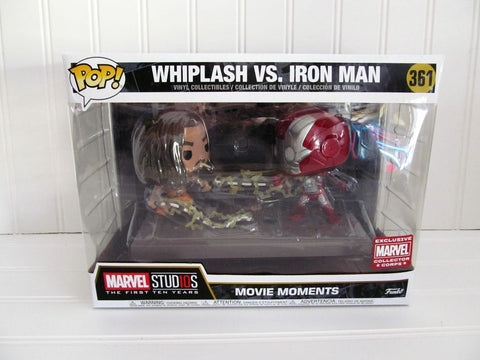 Funko Pop! Movie Moments:Whiplash VS Iron Man #361 Collector Corps Exclusive