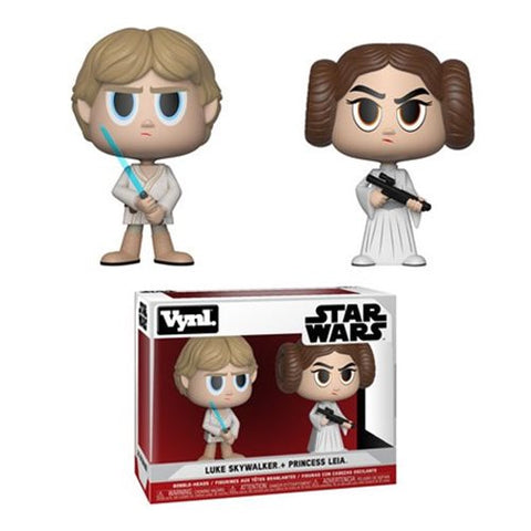 Funko Vynl Star Wars: Princess Leia & Luke Skywalker