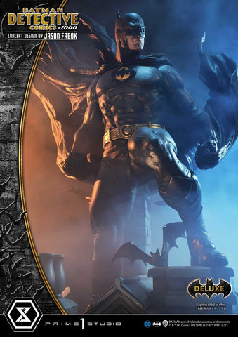 PRE-ORDER: Prime 1 Museum Masterline Batman Detective Comics #1000 (Concept Design By Jason Fabok) DX Bonus Version