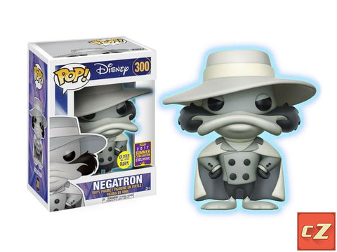 Funko Pop! Disney: Negatron (Glow In The Dark) #300 Summer Convention Exclusive - collectorzown