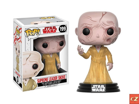 Funko Pop! Star Wars: The Last Jedi Supreme Leader Snoke #199 *New In Box* - collectorzown