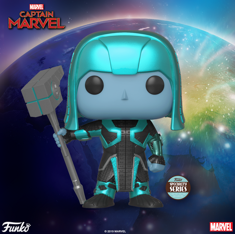 Funko Pop! Marvel: Captain Marvel Ronan #448 Specialty Series Exclusive