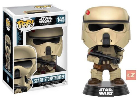Funko Pop! Star Wars: Rogue One Scarif Stormtrooper #145 *New In Box* - CollectorZown