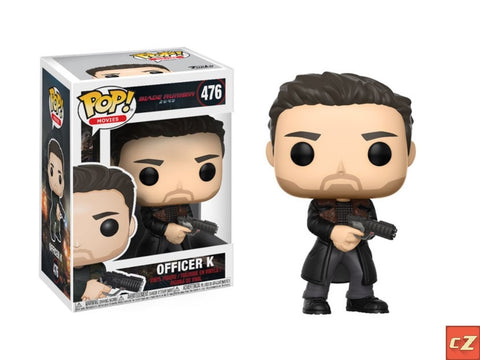 Funko Pop! Movies: Blade Runner 2049 Officer K #476 *New In Box* - CollectorZown