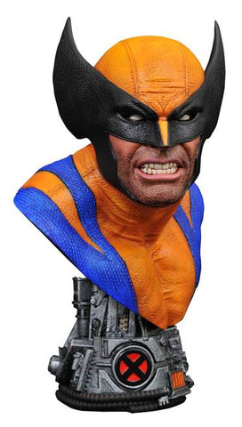 PRE-ORDER: Diamond Select Marvel Legends In 3D Wolverine 1:2 Scale Bust
