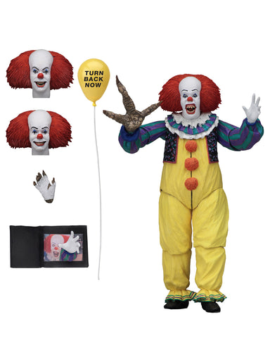 PRE-ORDER: NECA IT (1990) Ultimate Pennywise Version 2 7 Inch Action figure