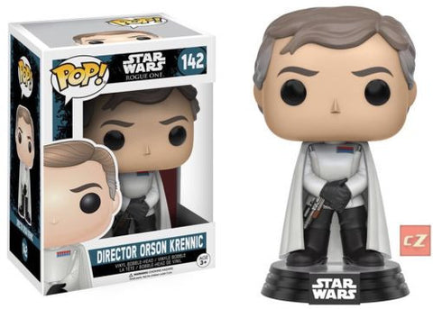 Funko Pop! Star Wars: Rogue One Director Orson Krennic #142 *New In Box* - CollectorZown