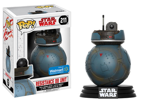 Funko Pop Star Wars: Resistance BB Unit #211 Walmart Exclusive - collectorzown