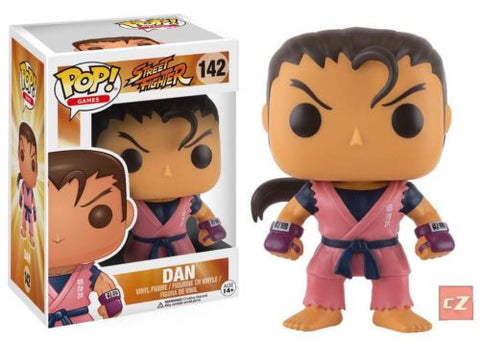 Funko Pop! Games: Street Fighter Dan #142 *New In Box* - collectorzown