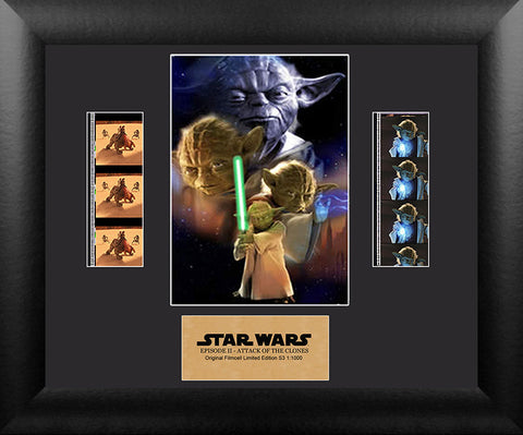 FilmCells: Star Wars Attack of the Clones Yoda Double Cell