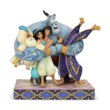 Enesco: Disney Traditions Aladdin Group Hug Statue