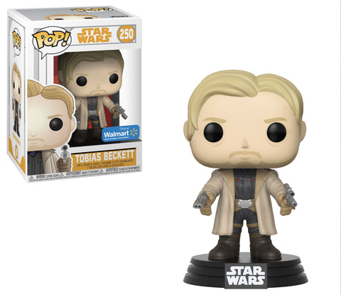 Funko Pop Star Wars: Tobias Beckett #250 Walmart Exclusive - collectorzown