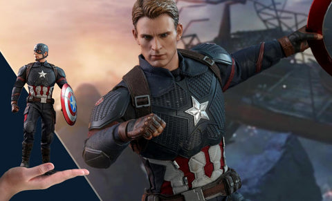 PRE-ORDER: Hot Toys Avengers Endgame: Captain America Sixth Scale Figure