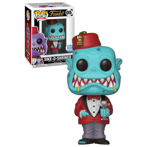 Funko Pop! Funko: Sike-O-Shriner #05 (Teal) Funko-Shop Exclusive