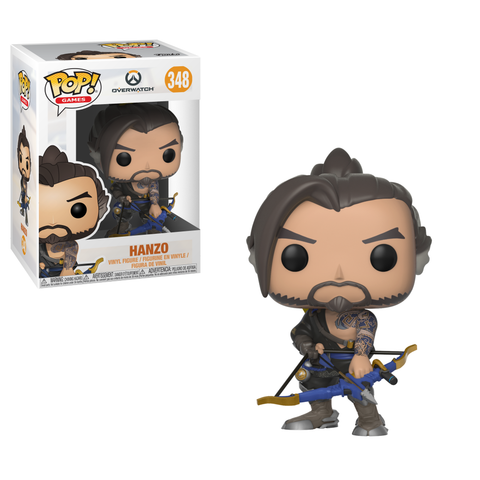 PRE-ORDER: Funko Pop! Games: Overwatch - Hanzo #348 - CollectorZown