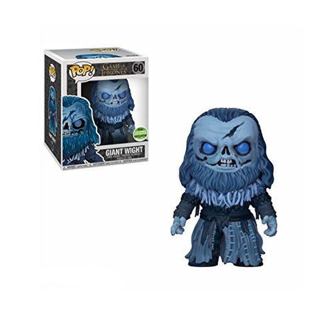 Funko Pop Television: Game of Thrones Giant Wight #60 2018 Spring Convention Exclusive - collectorzown