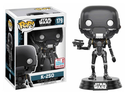 Funko Pop Star Wars: K-2SO #179 2017 Fall Convention Exclusive - collectorzown