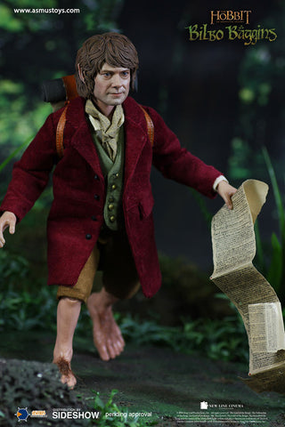 Asmus Collectibles Toys The Hobbit Series: Bilbo Baggins Sixth Scale Figure