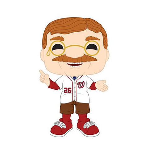 PRE-ORDER: Funko Pop! MLB: Teddy Roosevelt Washington Nationals