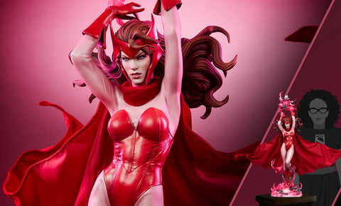 PRE-ORDER: Sideshow Collectibles Scarlet Witch Premium Format Figure