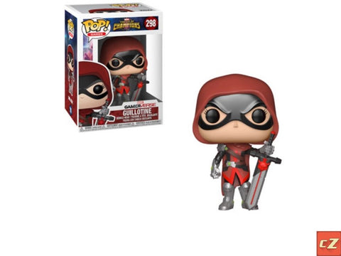 Funko Pop! Games: Marvel Conquest Of Champions Guillotine #298 *New In Box* - collectorzown