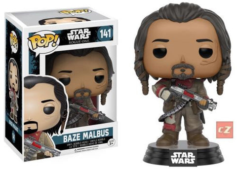 Funko Pop! Star Wars: Rogue One Baze Malbus #141 *New In Box* - CollectorZown