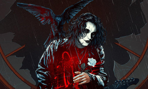 PRE-ORDER: Sideshow Collectibles The Crow: Real Love Is Forever Art Print
