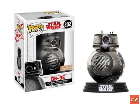 Funko Pop! Star Wars: BB-9E #202 Box Lunch Exclusive - CollectorZown