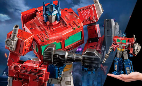 PRE-ORDER: Threezero Transformers: War for Cybertron Trilogy DLX Scale Optimus Prime Collectible Figure