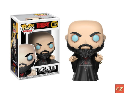 Funko Pop! Comics: Hellboy Rasputin #05 *New In Box* - collectorzown