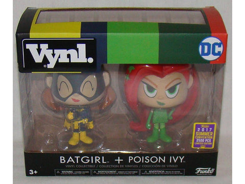 Funko Vynl Batgirl / Poison Ivy 2017 Summer Convention Exclusive 2500 pieces - CollectorZown