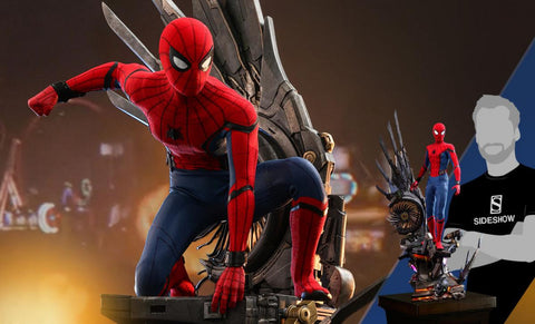 PRE-ORDER: Hot Toys Spider-Man (Deluxe Version) Quarter Scale Figure