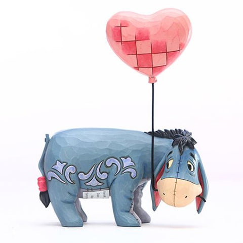 PRE-ORDER: Enesco: Disney Traditions Winnie the Pooh Eeyore with a Heart Balloon Love Floats by Jim Shore Statue