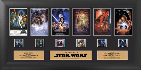PRE-ORDER:  Filmcells Star Wars (Through The Ages) Presentation