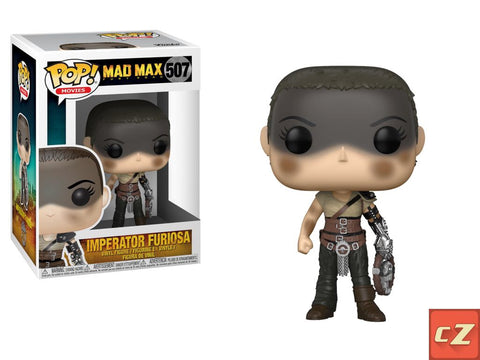 Funko Pop! Movies: Mad Max Fury Road Furiosa *New In Box* - CollectorZown