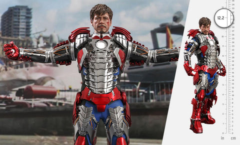 PRE-ORDER: Hot Toys Iron Man 2 Tony Stark (Mark V Suit Up Version) Sixth Scale Figure