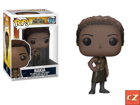 Funko Pop! Marvel: Black Panther Nakia #277 *New In Box* - CollectorZown