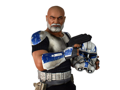 PRE-ORDER: Diamond Select Star Wars Clone Wars Deluxe Captain Rex 1:6 Scale Bust