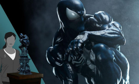PRE-ORDER: Sideshow Collectibles Symbiote Spider-Man Premium Format Figure