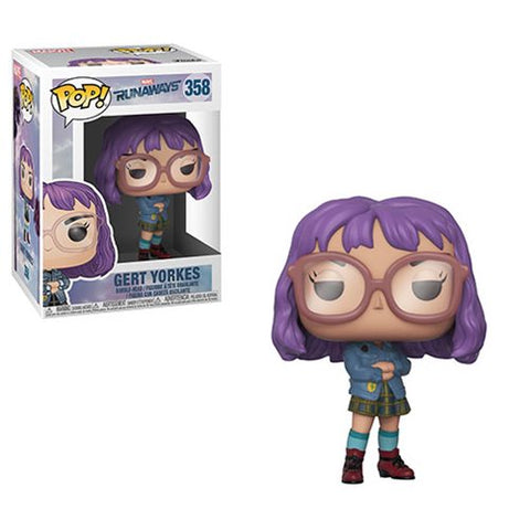 Funko Pop! Marvel: Runaways Gert Yorkes #358