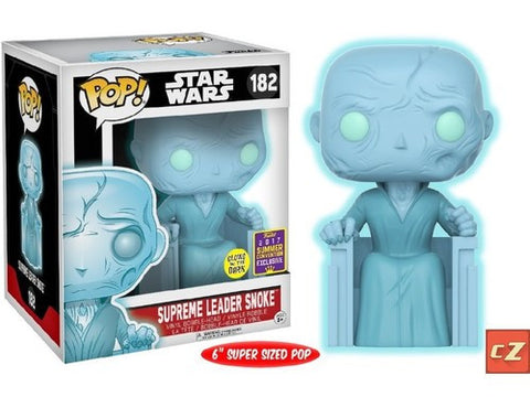 Funko Pop! Star Wars Supreme Leader Snoke #182 Summer Convention Exclusive *New In Box* - CollectorZown