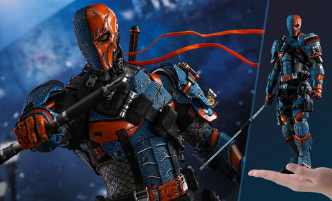 PRE-ORDER: Hot Toys Batman Arkham Origins: Deathstroke Video Game Masterpiece Sixth Scale Figure